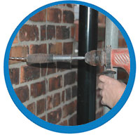Cavity wall tie replacement North East