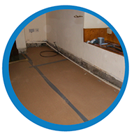 Rising damp control damp proofing floors North East