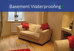 Basement conversion waterproofing damp proof membrane North East