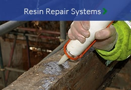 Resin repair systems wood preservation North East