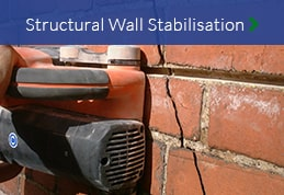 Structural wall stabilisation and crack stitching property preservation North East